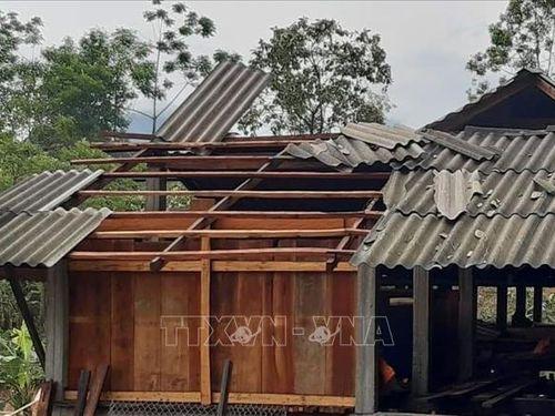 Mưa đá, giông lốc gây thiệt hại lớn tại hai huyện ở Hà Giang