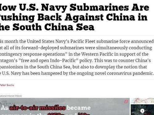 Triển khai tàu ngầm, máy bay ném bom ở Biển Đông, Mỹ nhắn nhủ thông điệp gì?