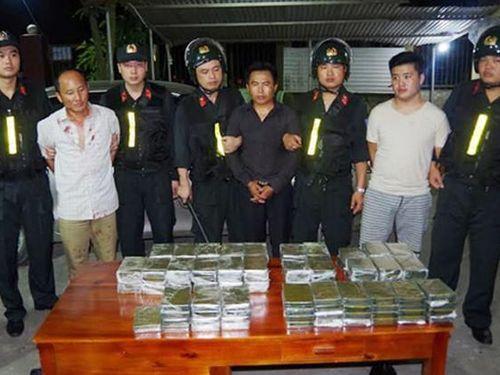 Những mắt xích trong đường dây mua bán 120 bánh heroin