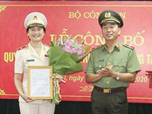 Nữ thiếu tướng làm cục trưởng thuộc Bộ Công an