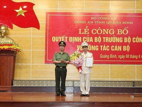 Quảng Bình có thêm tân Phó Giám đốc công an tỉnh