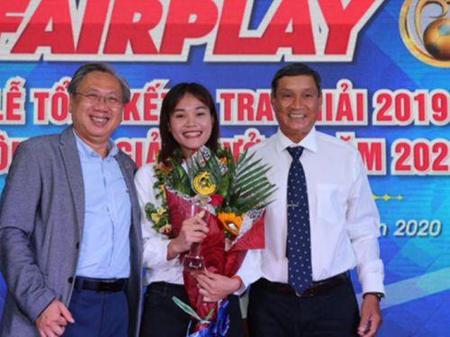 Chương Thị Kiều đoạt giải Fair Play 2019