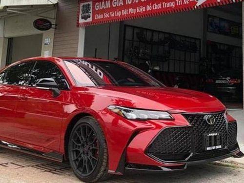 Cận cảnh Toyota Avalon TRD 2020 sản xuất tại Mỹ vừa về Việt Nam