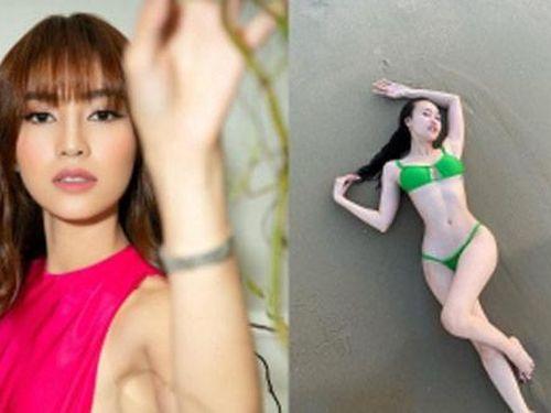 Ninh Dương Lan Ngọc gây 'bão' mạng xã hội với ảnh bikini khoe body cực hot, đến Lê Giang cũng phải trầm trồ