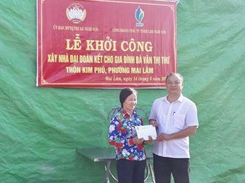 Thanh Hóa: Xây nhà đại đoàn kết cho hộ nghèo