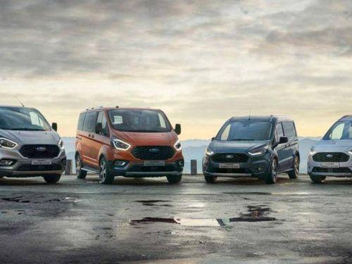 Ra mắt thêm 2 phiên bản mới của Ford Transit và Ford Tourneo tại châu Âu