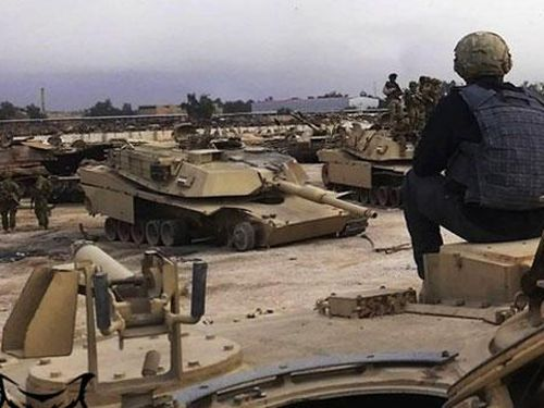 Thảm cảnh xe tăng M1 Abrams 'bất khả chiến bại' tại Iraq