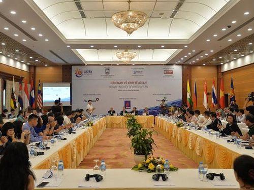 Chùm ảnh toàn cảnh Diễn đàn về Kinh tế ASEAN, Doanh nghiệp tiêu biểu ASEAN