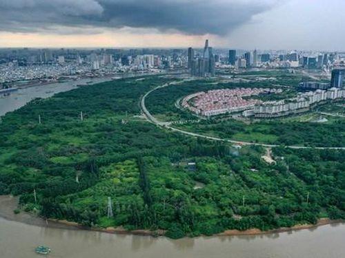 Ban quản lý Thủ Thiêm thông tin về quy hoạch Khu Lâm viên sinh thái