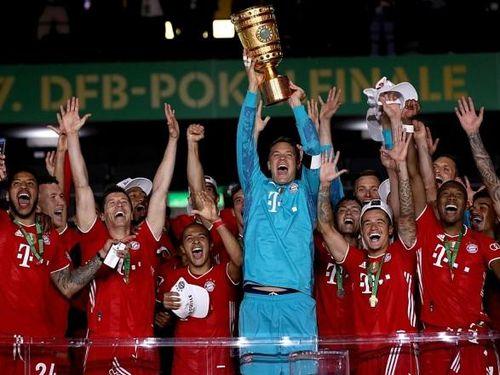 Đánh bại Leverkusen, Bayern Munich đăng quang cúp Quốc gia Đức