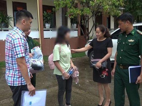 Giải cứu một nạn nhân bị lừa bán sang Trung Quốc
