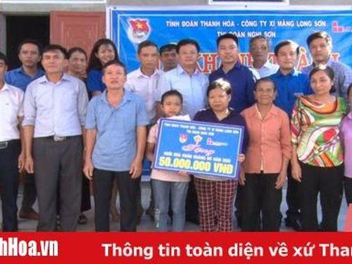 Khánh thành nhà 'Khăn quàng đỏ' cho học sinh mồ côi ở thị xã Nghi Sơn