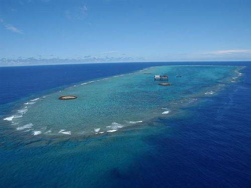 Tàu khảo sát Trung Quốc xuất hiện gần đảo Okinotori của Nhật