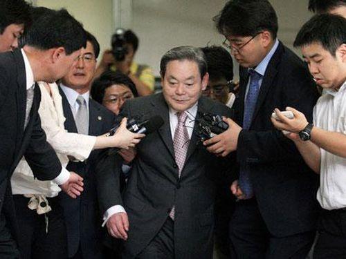 Chủ tịch Tập đoàn Samsung đứng đầu danh sách 10 người giàu nhất Hàn Quốc năm 2020