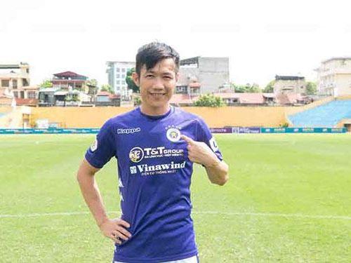 Tiền vệ Lê Tấn Tài chính thức ra mắt trong màu áo đội tuyển Thủ đô