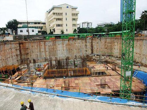 Thiết kế và thi công hố đào sâu bằng phương pháp đào mở trên địa bàn Thành phố Hà Nội