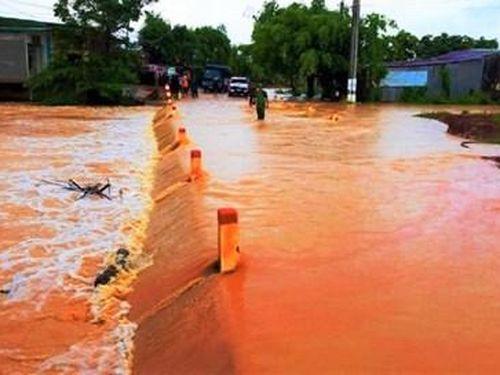 Đắk Lắk: 286 căn nhà, 800ha cây trồng bị nhấn chìm trong biển nước do mưa lớn