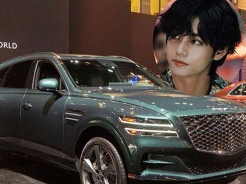 Nam ca sỹ V của BTS tậu SUV hạng sang Genesis GV80 mới