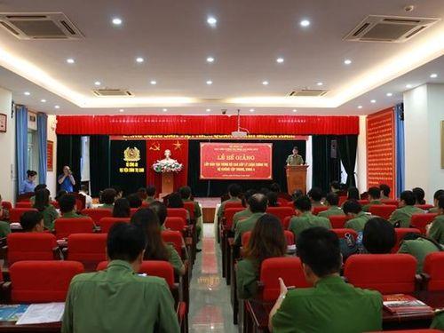 Học viện Chính trị CAND bế giảng lớp Lý luận chính trị cao cấp khóa 4