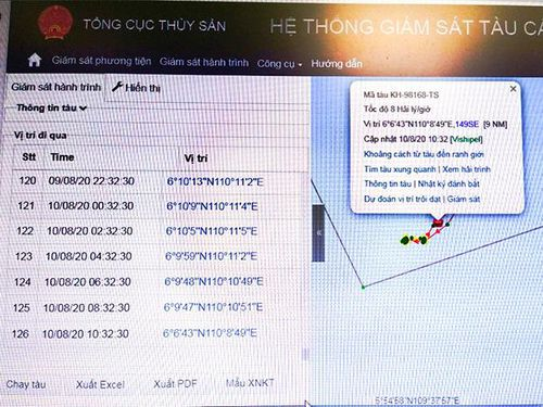 Vụ 3 tàu cá Khánh Hòa bị Indonesia bắt giữ: Các tàu hoạt động trong vùng biển Việt Nam