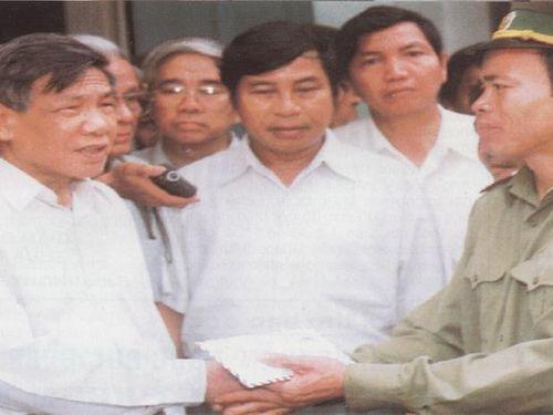 Tình cảm đặc biệt của nguyên Tổng Bí thư Lê Khả Phiêu dành cho cán bộ, chiến sĩ BĐBP