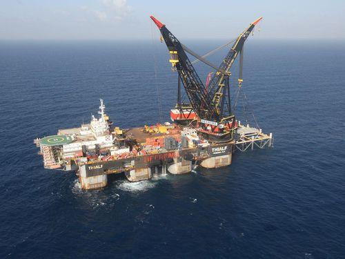 Tranh chấp trên biển bùng nổ ở Địa Trung Hải do các mỏ khí gas mới