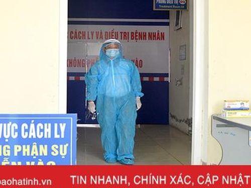 Đã cách ly hành khách đi từ Đà Nẵng về thị xã Hồng Lĩnh