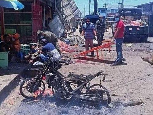 Nổ bom kép tại Philippines, ít nhất 10 người chết