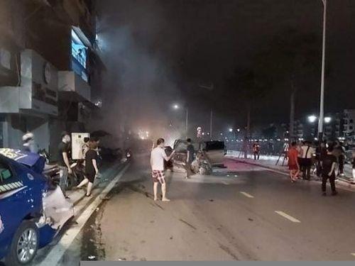 Khởi tố 'thiếu gia' gây tai nạn giao thông nghiêm trọng tại phố đi bộ Tam Bạc