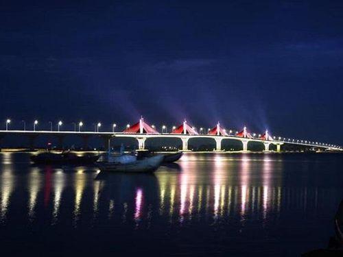 Thử nghiệm các kịch bản chiếu sáng trên cầu Cổ Lũy