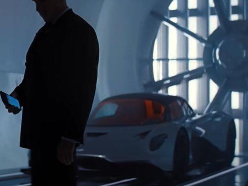 Siêu xe 1,3 triệu USD xuất hiện trong phim James Bond