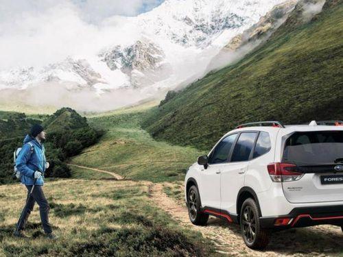 Cận cảnh phiên bản giới hạn của Subaru Forester tại Đức