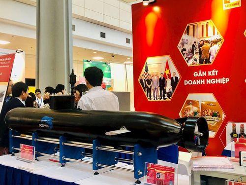 Thiết bị lặn không người lái Dolphin mang thương hiệu 'made in Vietnam'