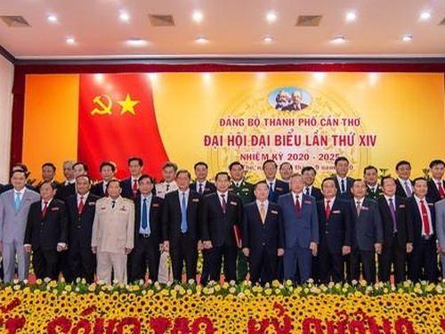 Chân dung 50 người trong Ban Chấp hành Đảng bộ Cần Thơ nhiệm kỳ mới