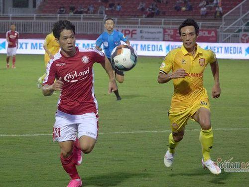 Công Phượng chói sáng, TP.HCM thắng đậm Nam Định