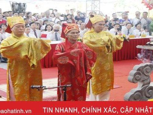 Trang nghiêm Lễ giỗ lần thứ 200 của Đại thi hào Nguyễn Du
