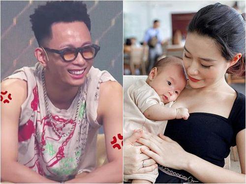 Vợ 'Thánh hài' Rap Việt muốn độn thổ vì chiếc áo tay ngắn của chồng trên truyền hình