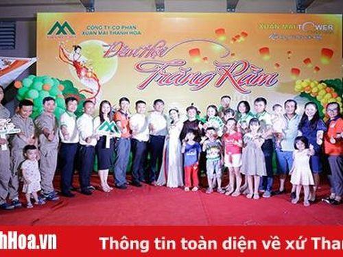 Chung cư Xuân Mai Tower Thanh Hóa tổ chức đêm hội trăng rằm 2020