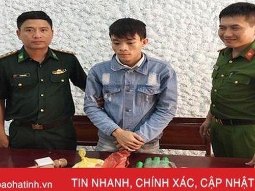 Ra Quảng Ninh mua thuốc nổ về Hà Tĩnh tiêu thụ thì bị bắt