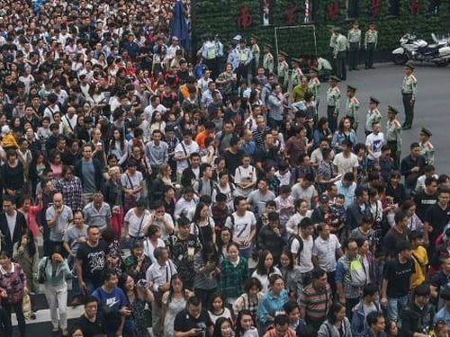 Hàng trăm triệu người Trung Quốc đổ đi du lịch