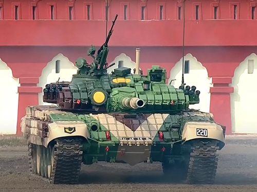 T-72M1 Ajeya của Ấn Độ bắt đầu được trang bị kính ngắm ảnh nhiệt