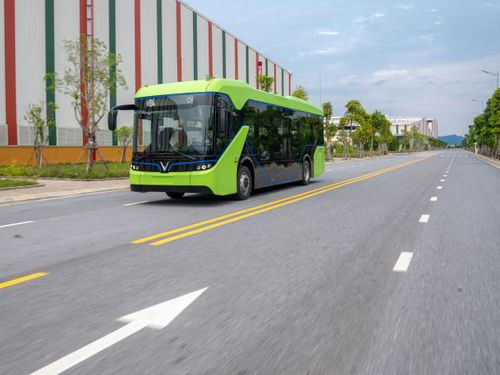 Xe buýt điện VinFast hoàn thành giai đoạn thử nghiệm