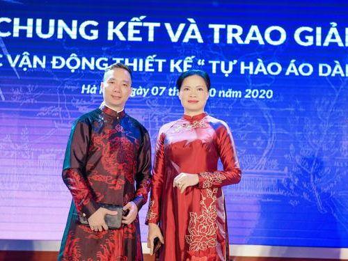 NTK Đỗ Trịnh Hoài Nam đồng hành với Hội LHPN Việt Nam tôn vinh áo dài