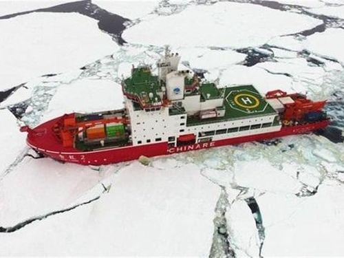 Greenland vào tầm ngắm Mỹ, hút tàu phá băng Trung Quốc
