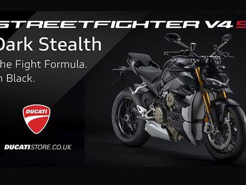Ducati Streetfighter V4 S Dark Stealth mới chào bán 615 triệu đồng