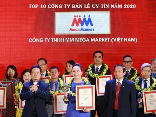 MM Mega Market vào top 3 công ty bán lẻ uy tín