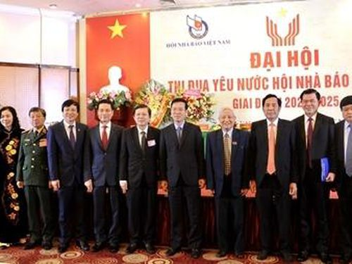 Hội Nhà báo Việt Nam vinh danh điển hình tiên tiến
