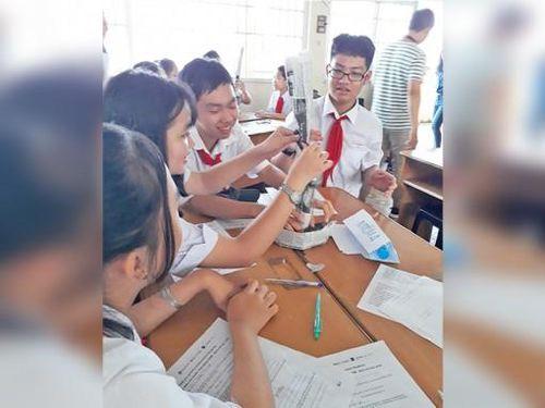 Ninh Kiều đẩy mạnh ứng dụng STEM vào trường học