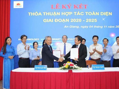 Tập đoàn Lộc Trời và Tập đoàn VNPT ký kết thỏa thuận hợp tác toàn diện, ứng dụng AI trong nông nghiệp thông minh