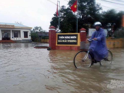 Hàng loạt hồ chứa ở Quảng Trị xả lũ, cảnh báo ngập lụt diện rộng